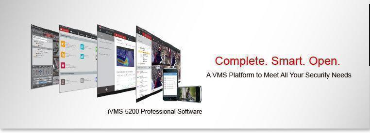 Hikvision iVMS-5200 Pro Management Software