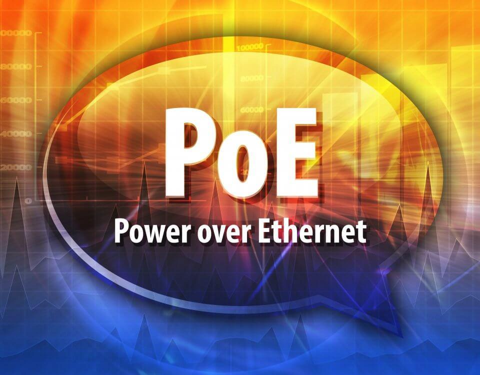PoE Stromversorgung und gleichzeitige Datenübertragung