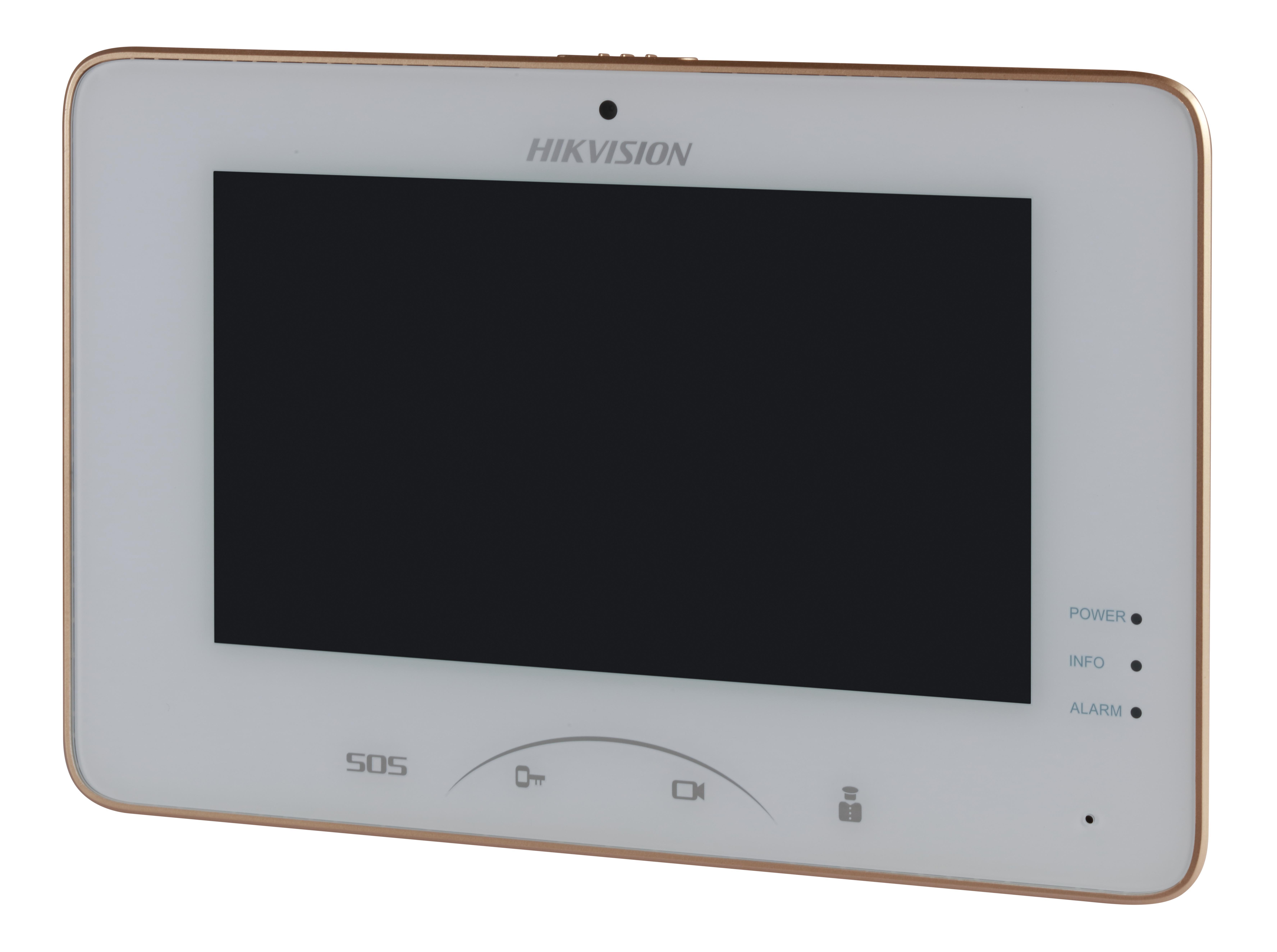 Hikvision DS-KH8301-WT 7 Zoll Touch-Screen Indoorstation